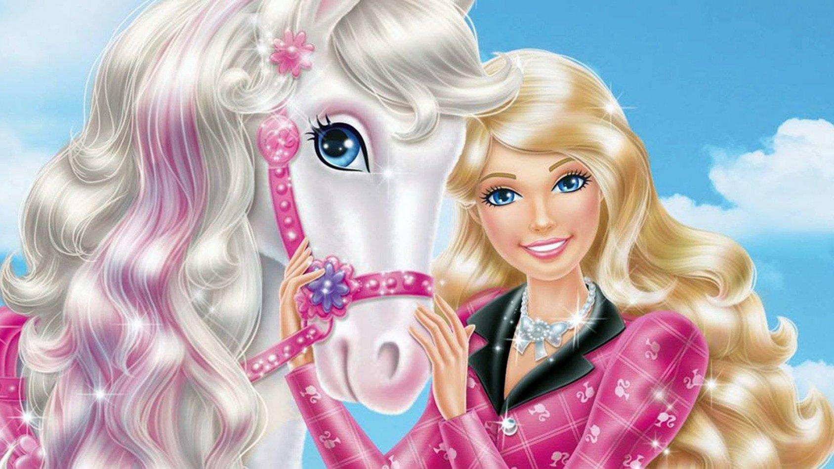 Barbie & hennes systrar i ett hästäventyr