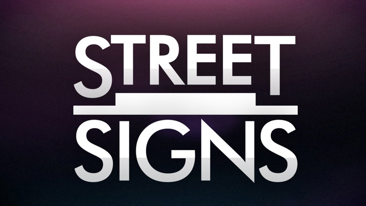Asia Street Signs
