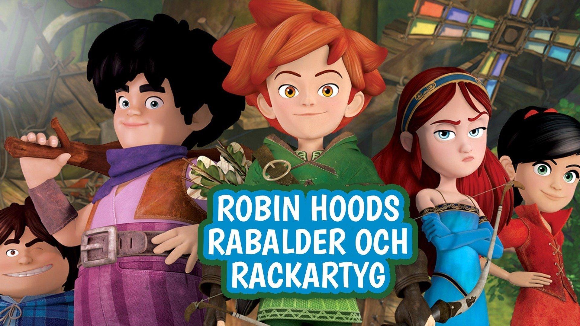 Robin Hoods rabalder och rackartyg - sv.tal