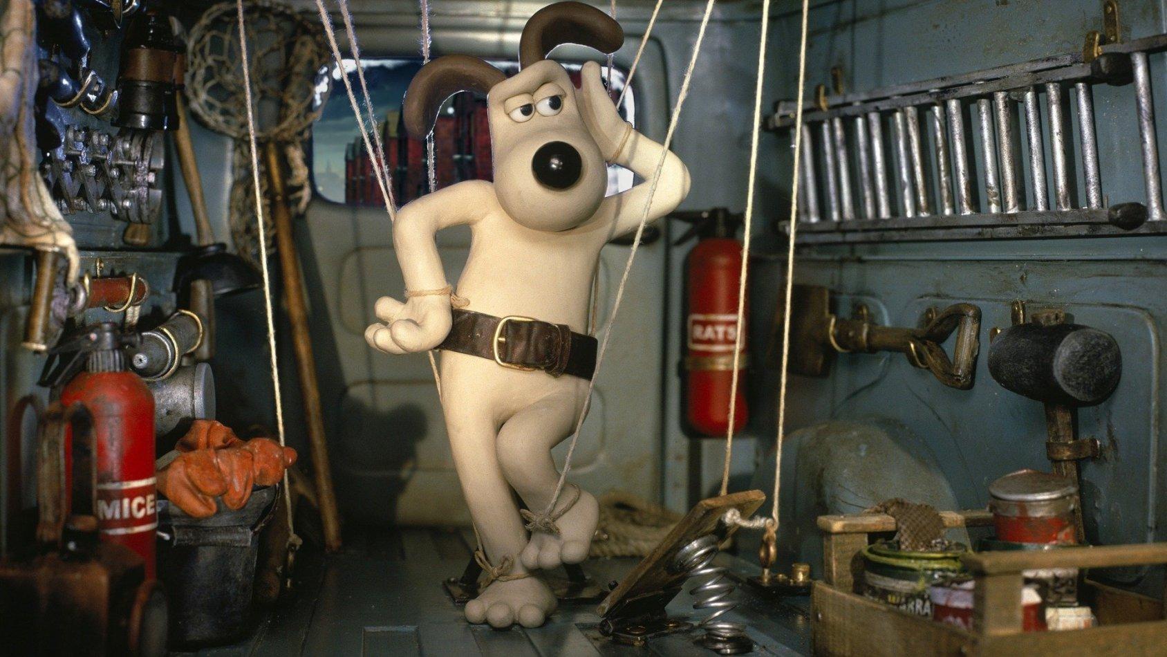Wallace & Gromit - Varulvskaninens förbannelse - sv.tal