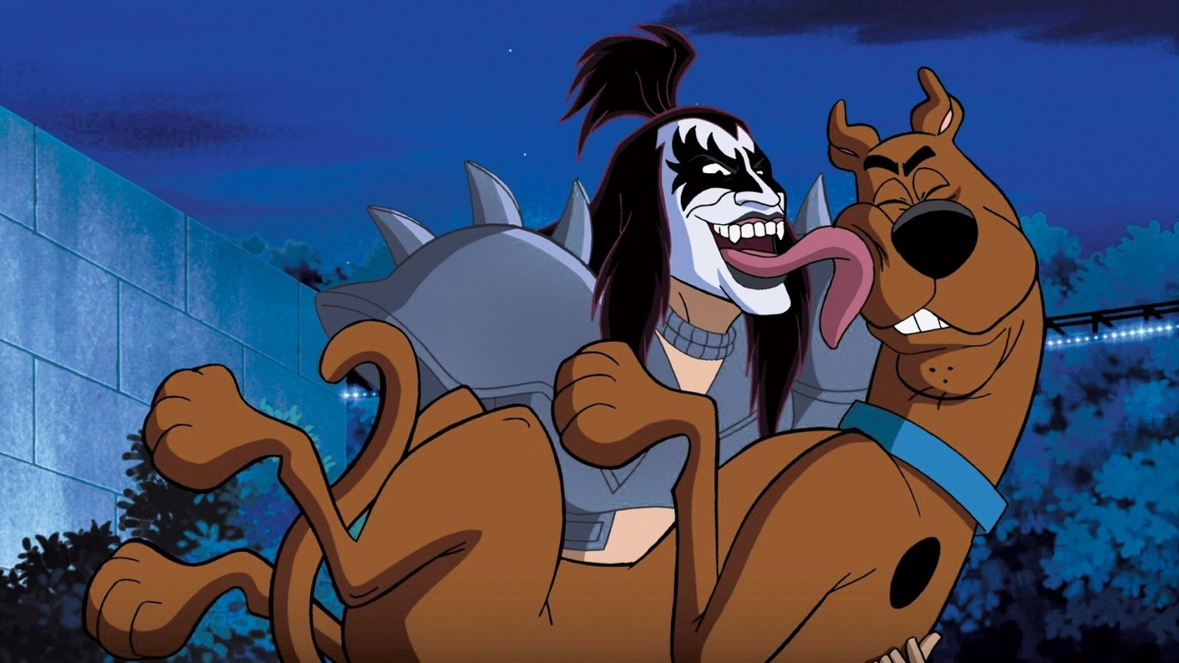 Scooby-Doo! Och KISS i ett rock'n'roll mysterium