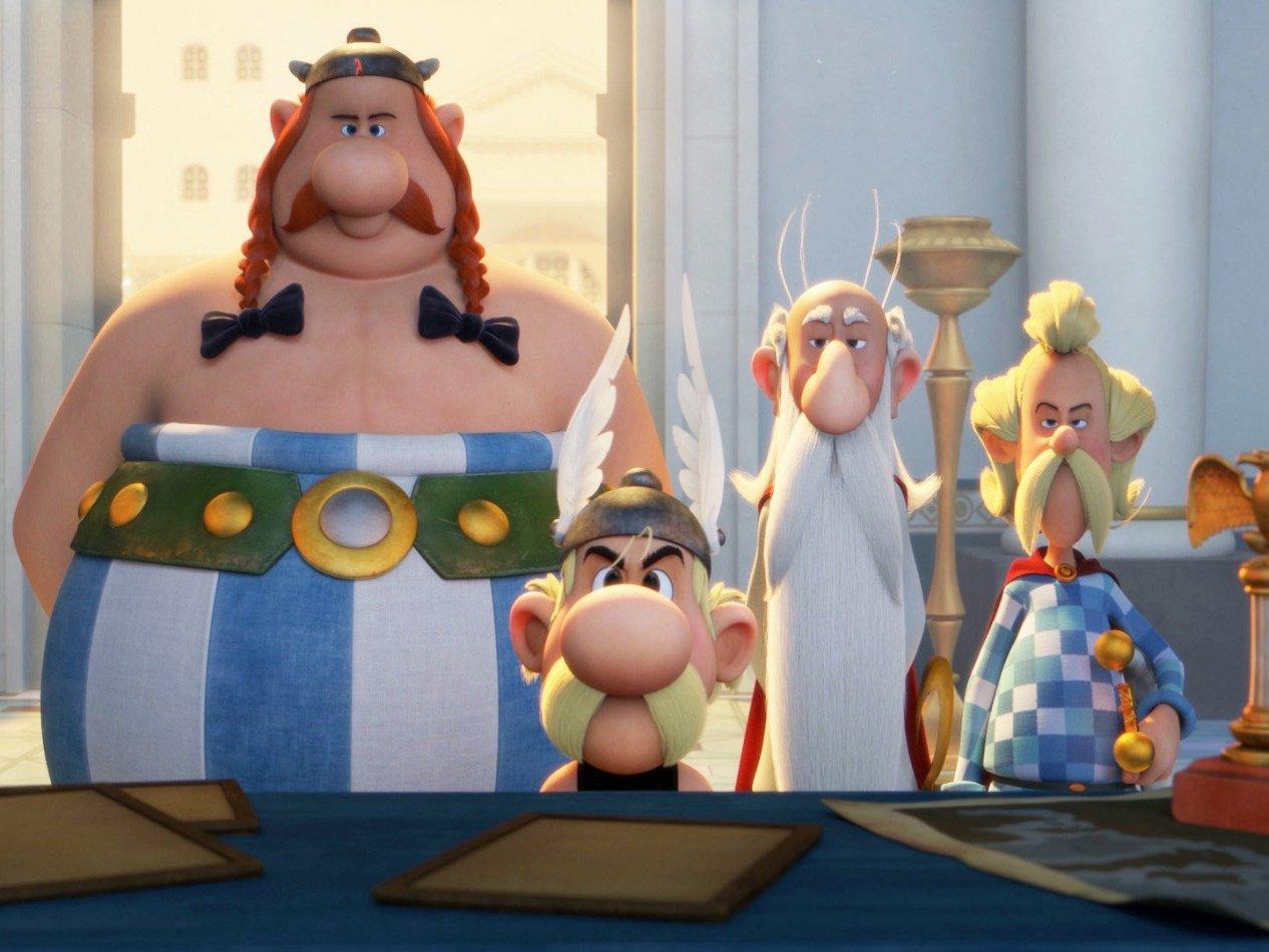 Asterix - Gudarnas hemvist - sv.tal