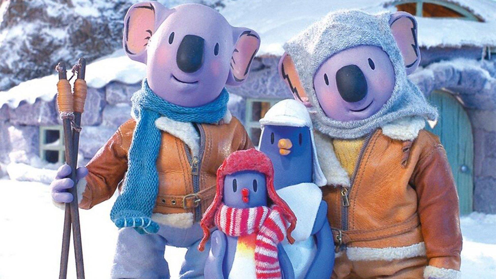 Koalabröderna - Jul hos koalabröderna - sv.tal