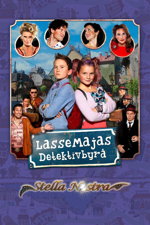 Lassemajas detektivbyrå - Stella Nostra - sv.tal