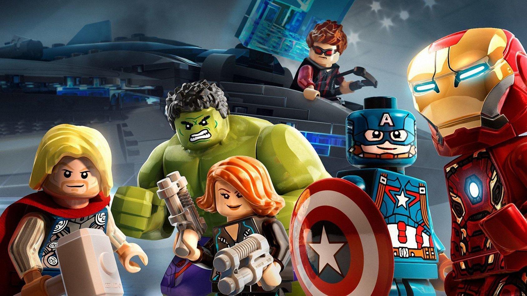 LEGO Marvel Superheroes: Avengers Reassembled - sv.tal