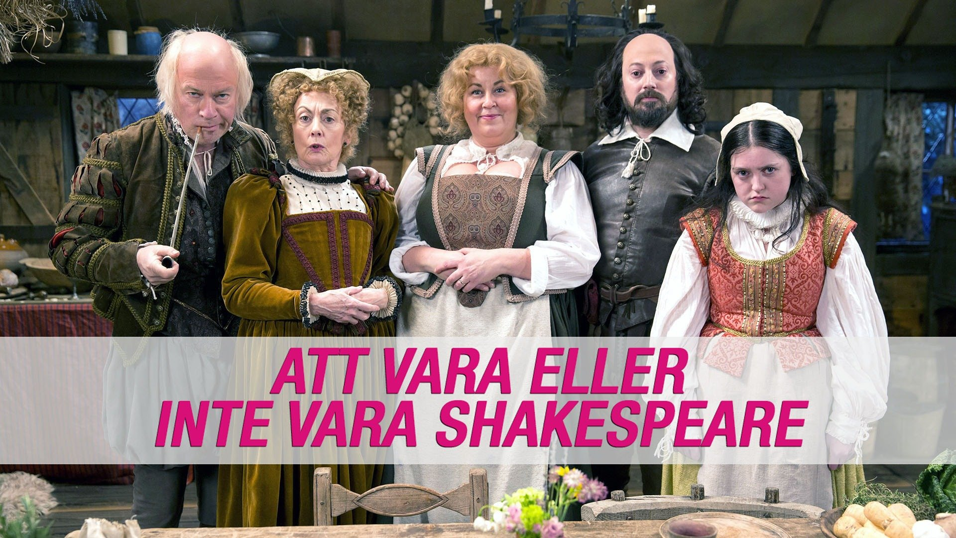 Att vara eller inte vara Shakespeare