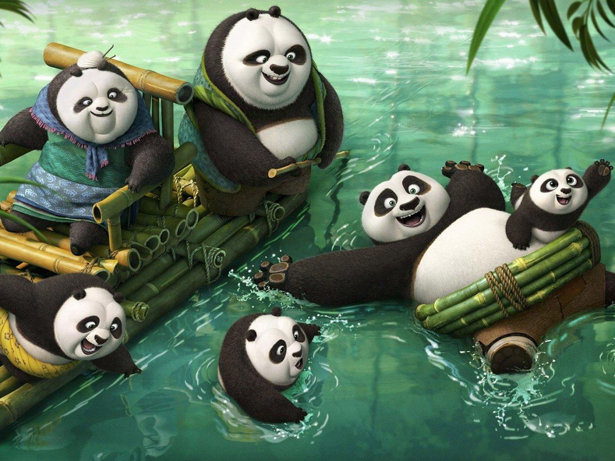 Kung Fu Panda 3 - sv.tal