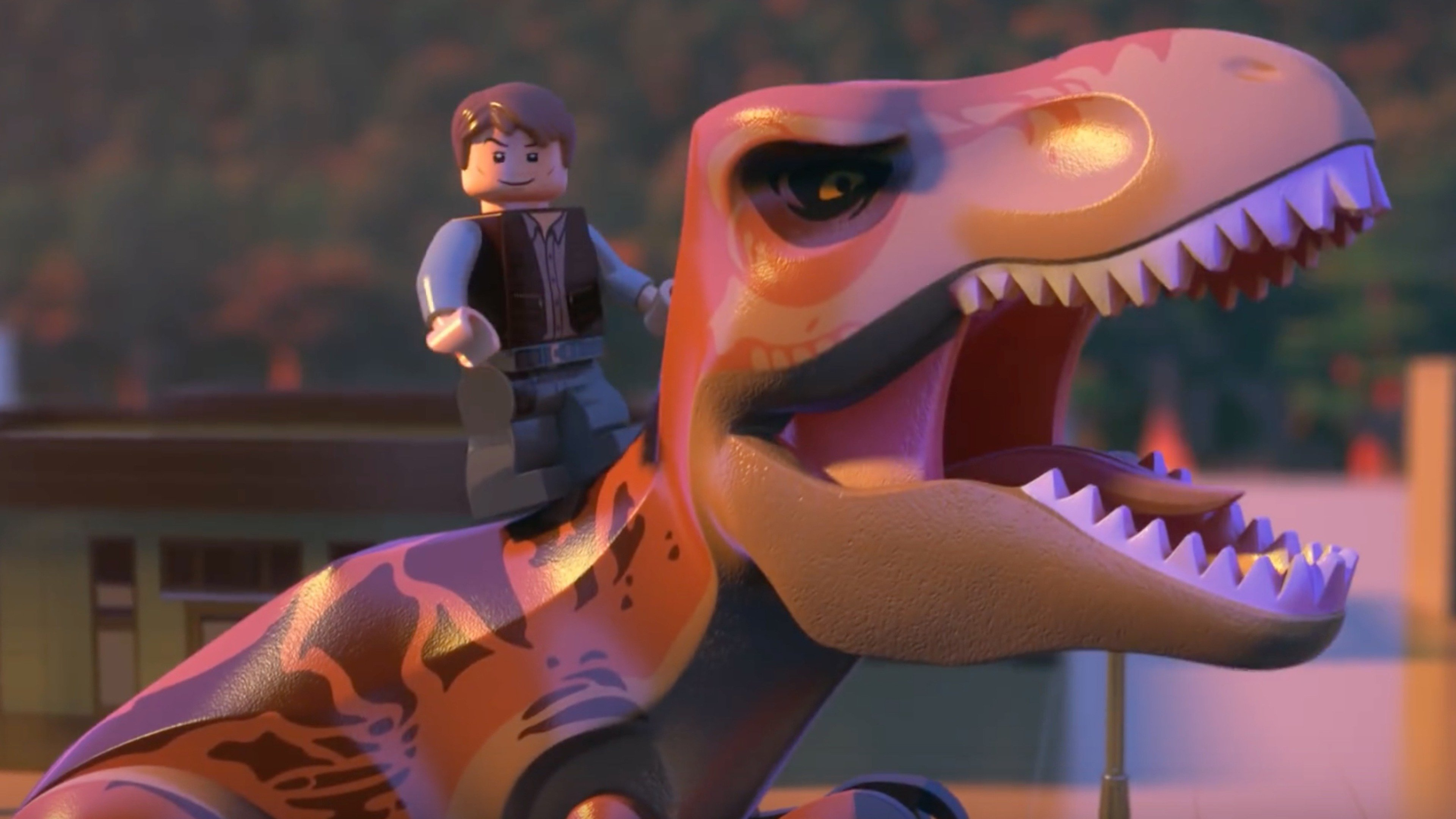 LEGO Jurassic World: The indominus Escape - sv.tal