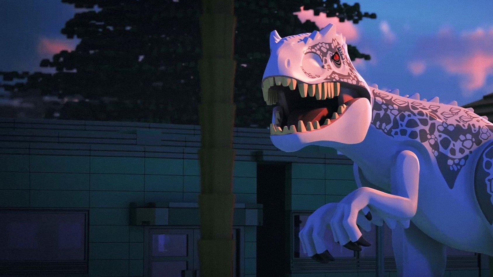 LEGO Jurassic World: The indominus Escape - sv.tal
