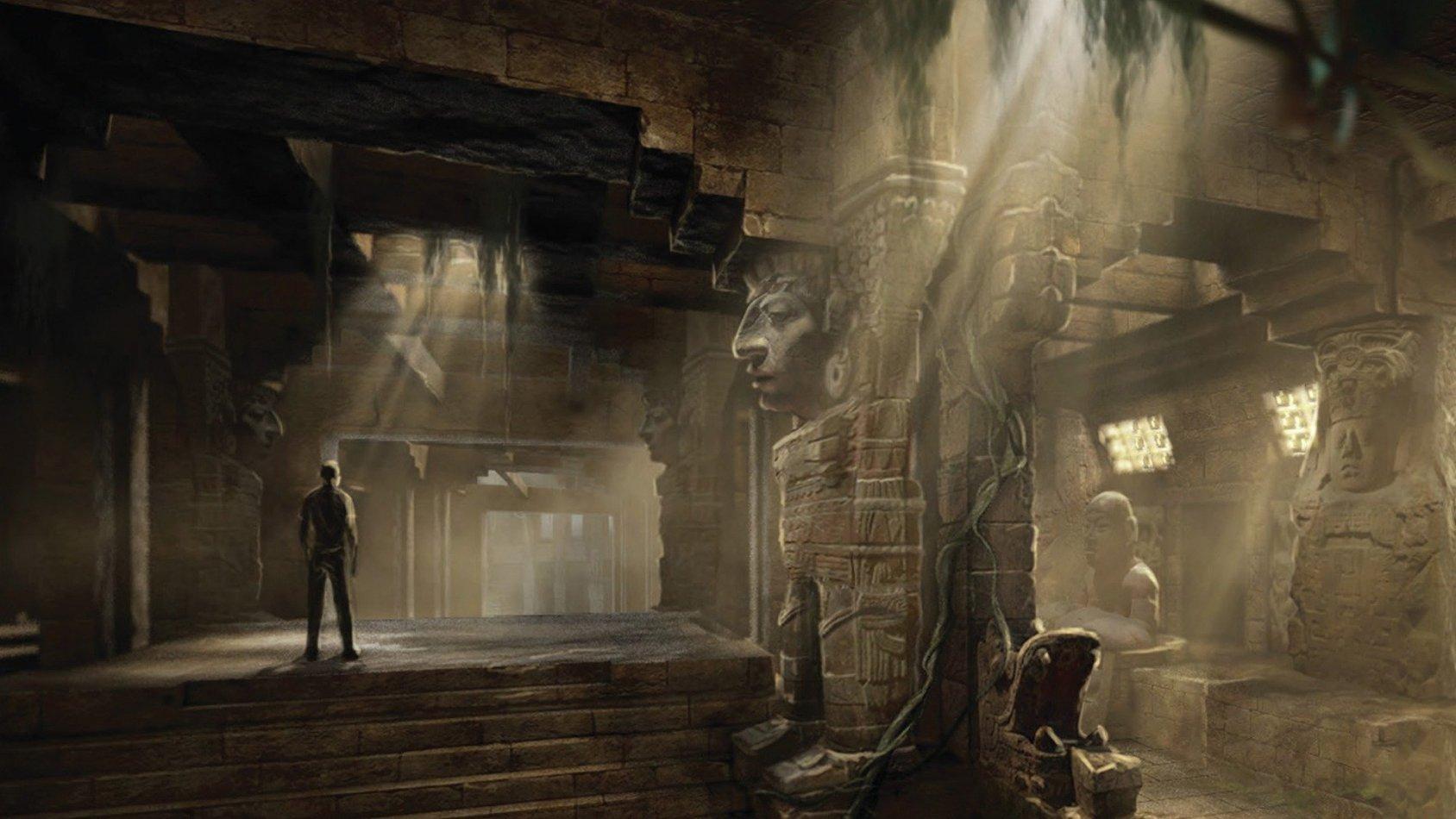Legenderna Om Det Gömda Templet