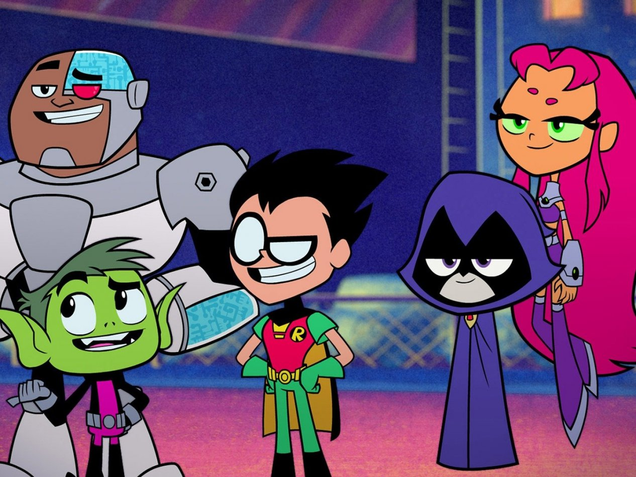 Teen Titans Go! Filmen - sv.tal