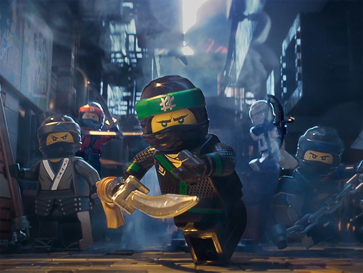 The LEGO NINJAGO Movie - sv.tal
