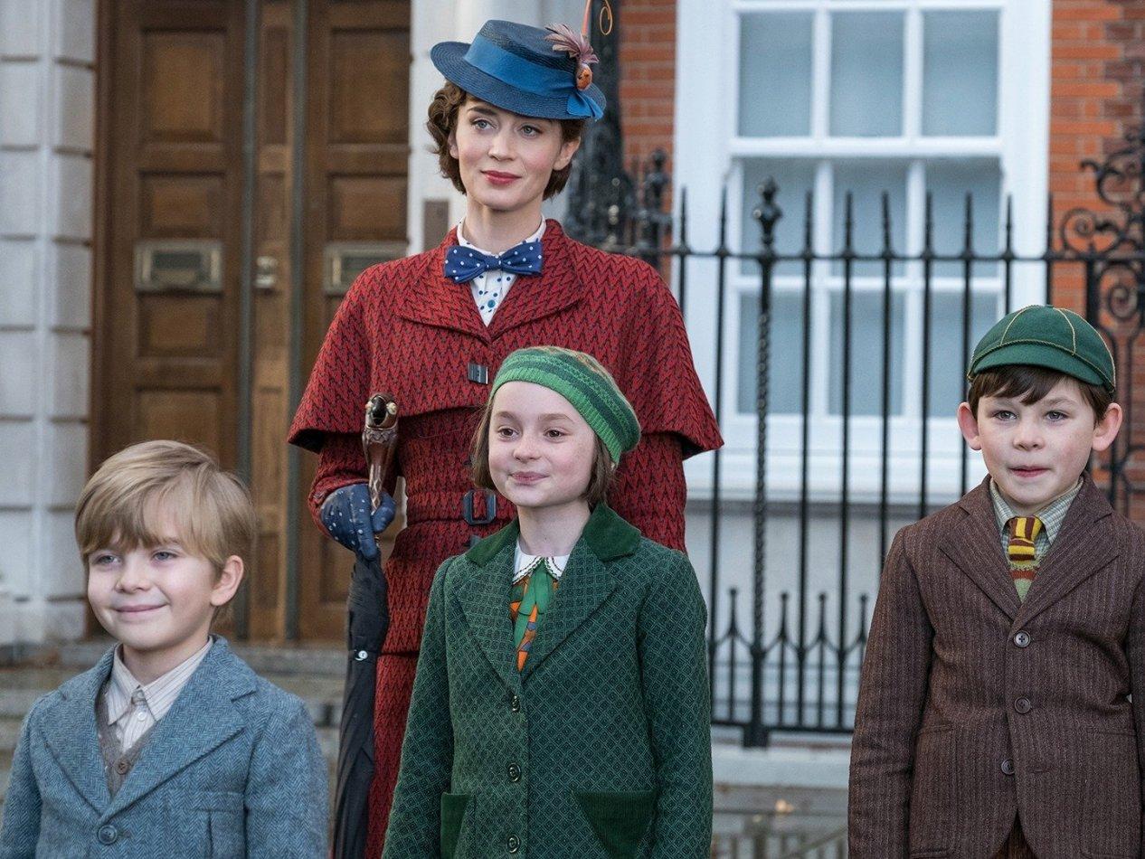 Mary Poppins kommer tillbaka - sv.tal
