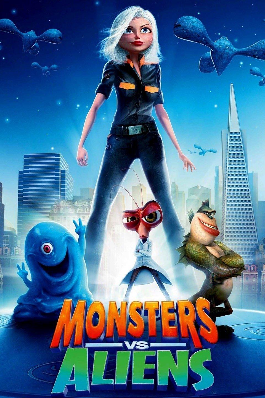 Monsters vs. Aliens - sv.tal
