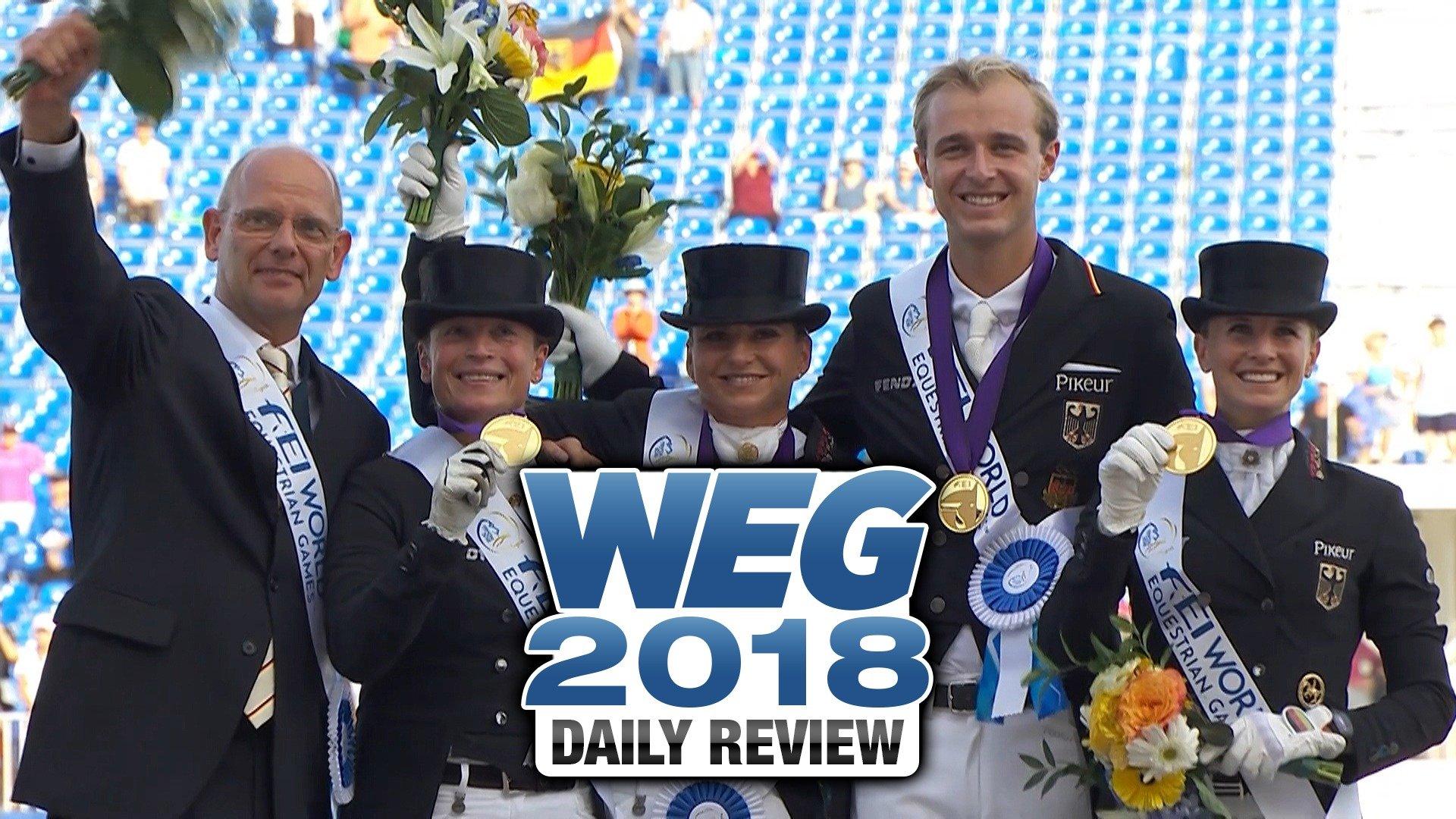 WEG 2018: Daily Review