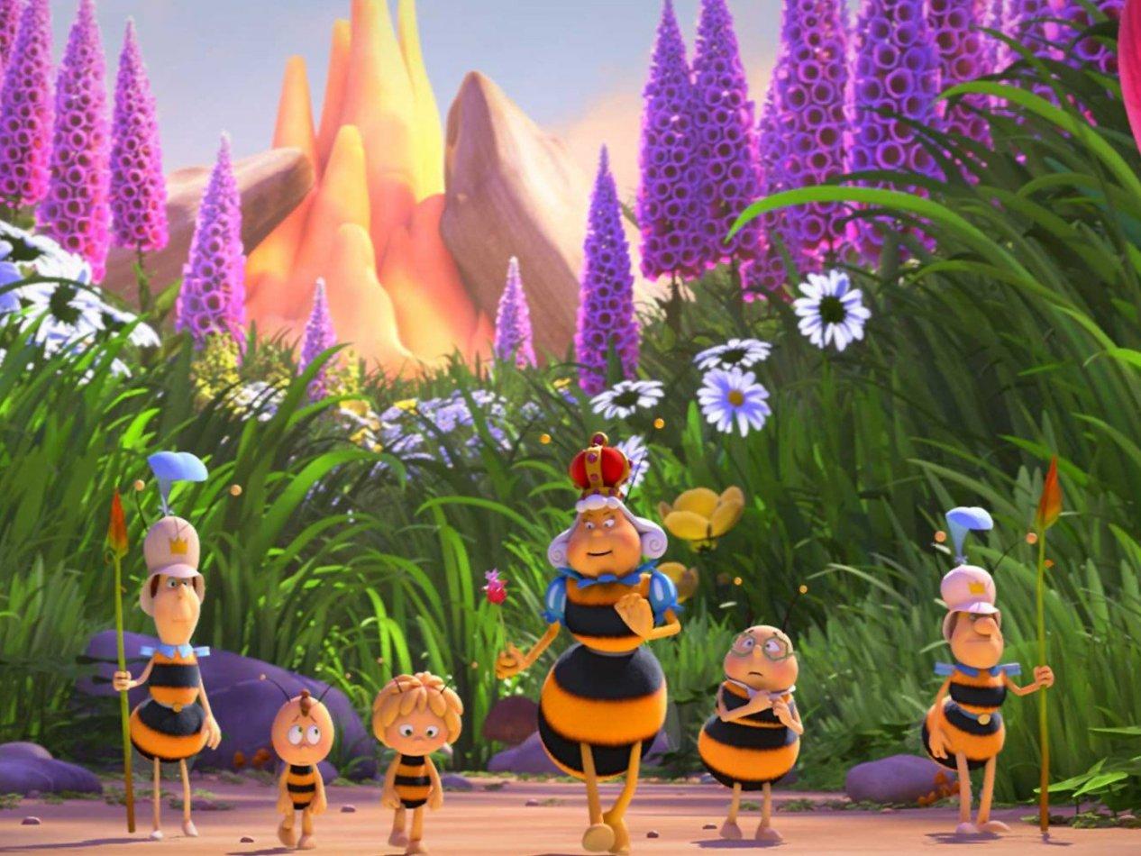 Biet Maya: På nya honungsäventyr - sv.tal