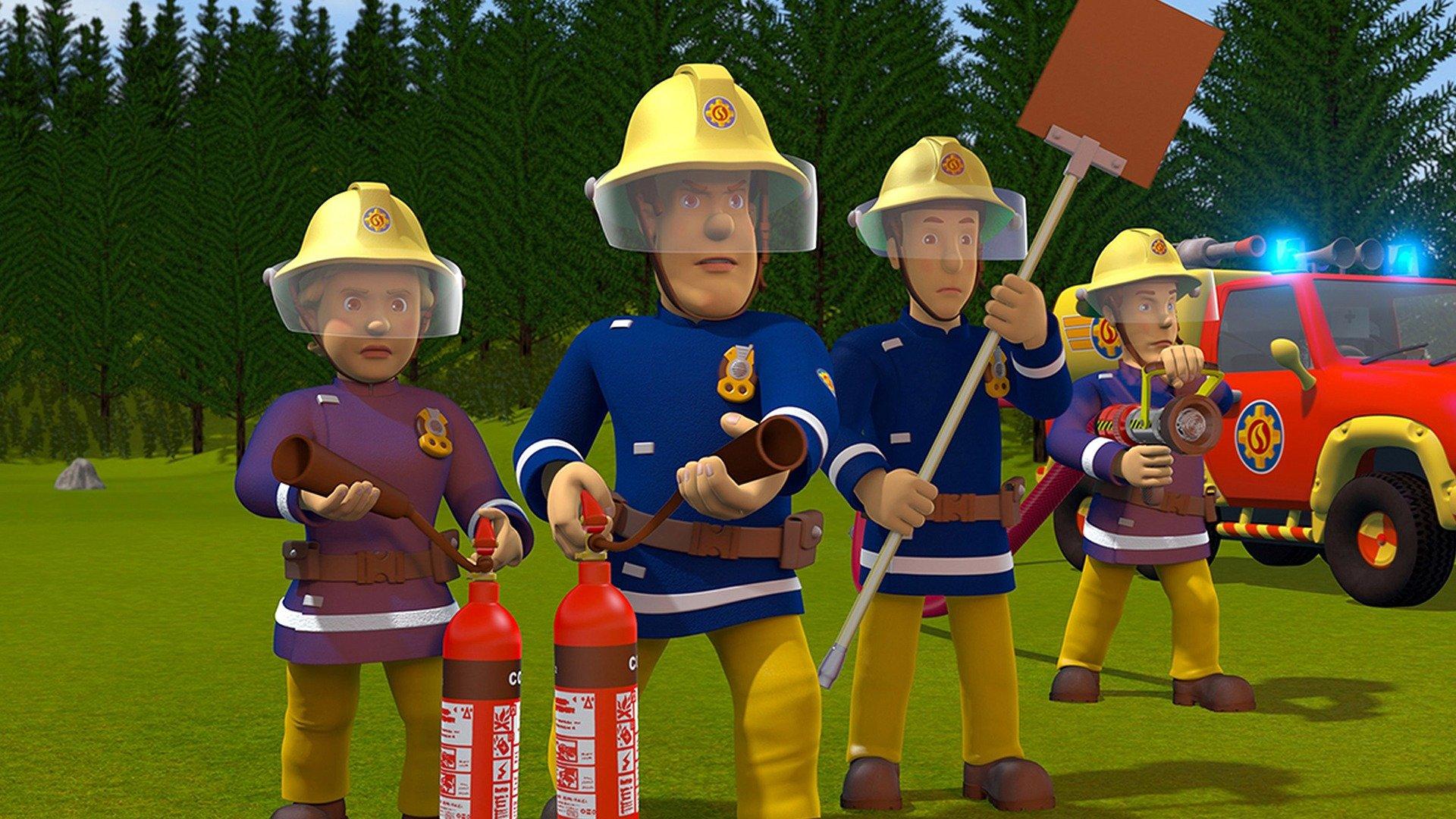 Brandman Sam - Klart för tagning! - sv.tal