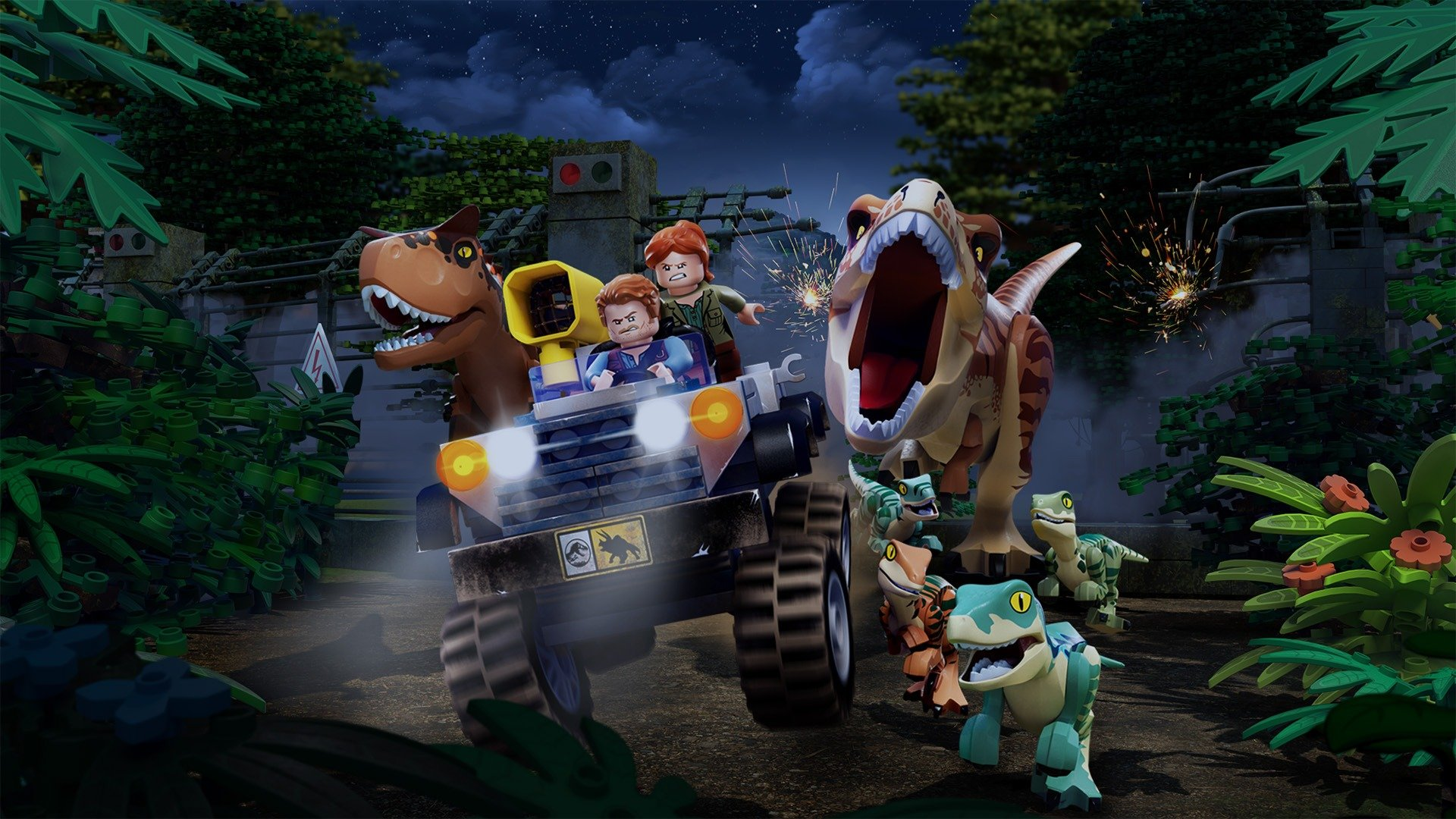 Lego Jurassic World: The Secret Exhibit - sv.tal