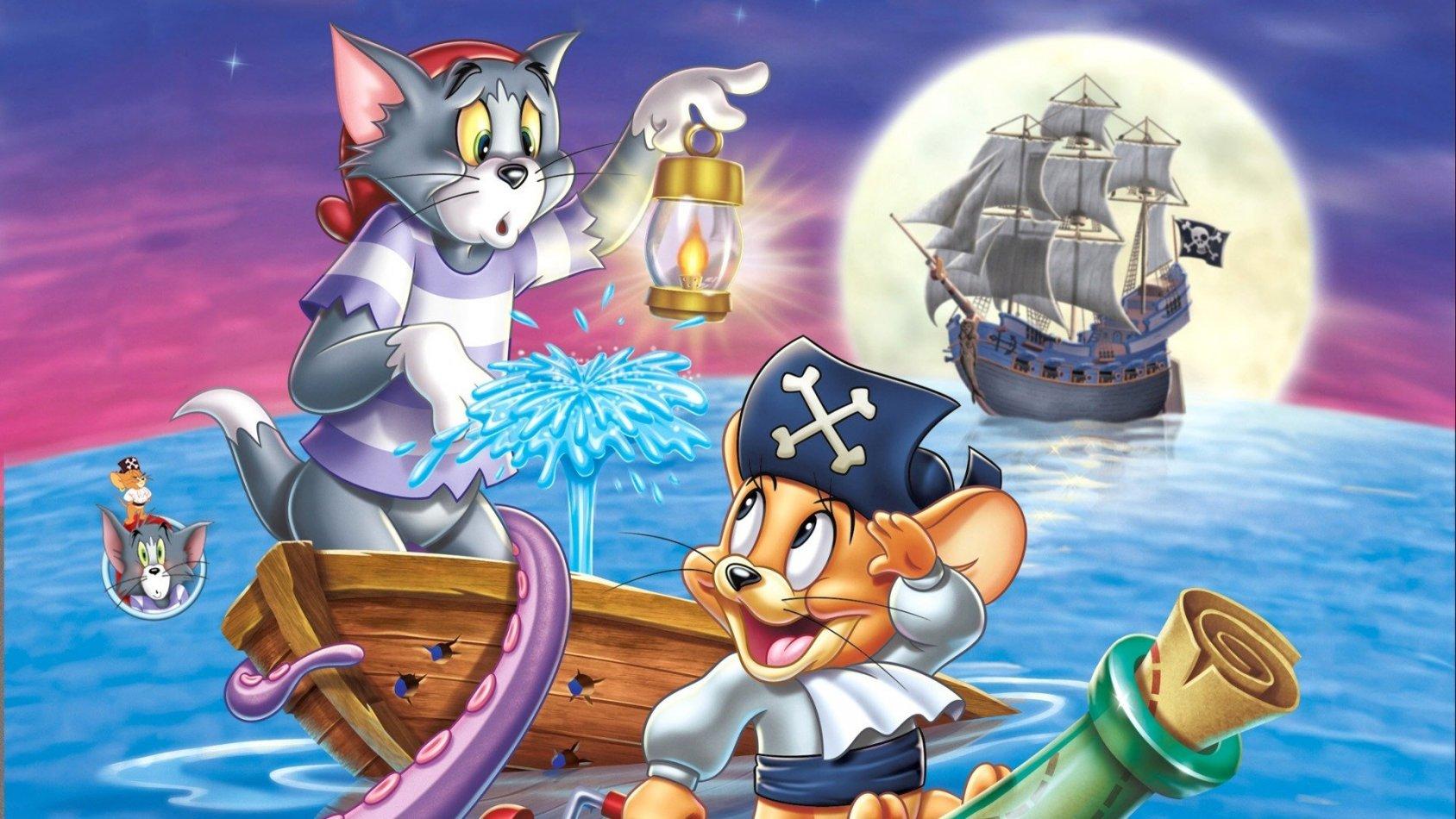 Tom & Jerry Landkrabbor med morrhår