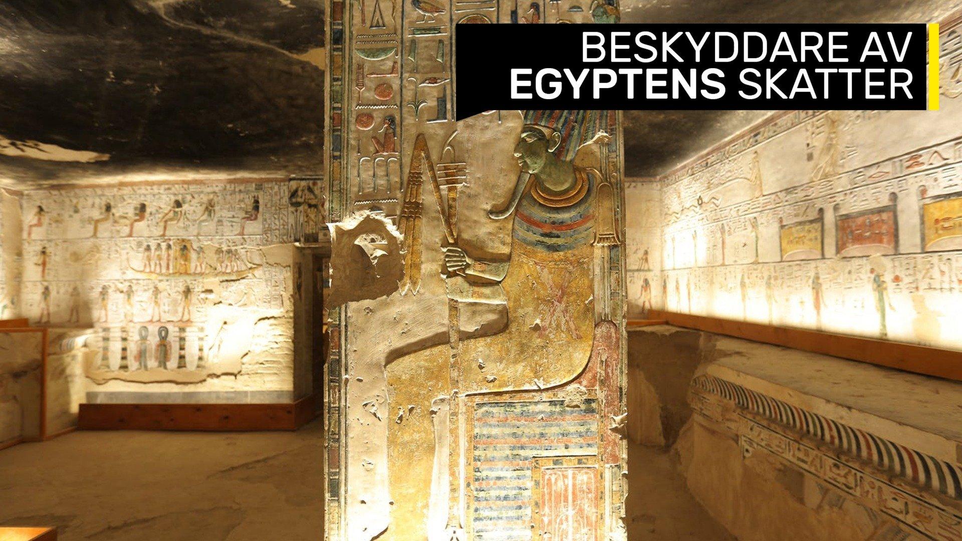 Beskyddare av egyptens skatter