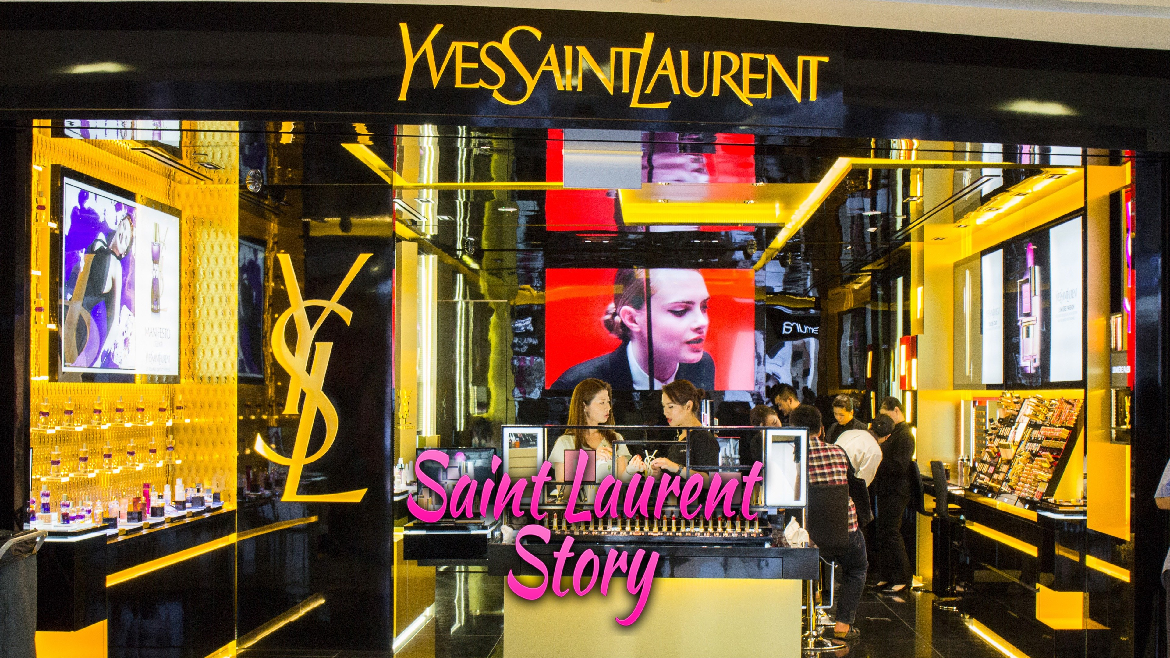 Saint Laurent Story