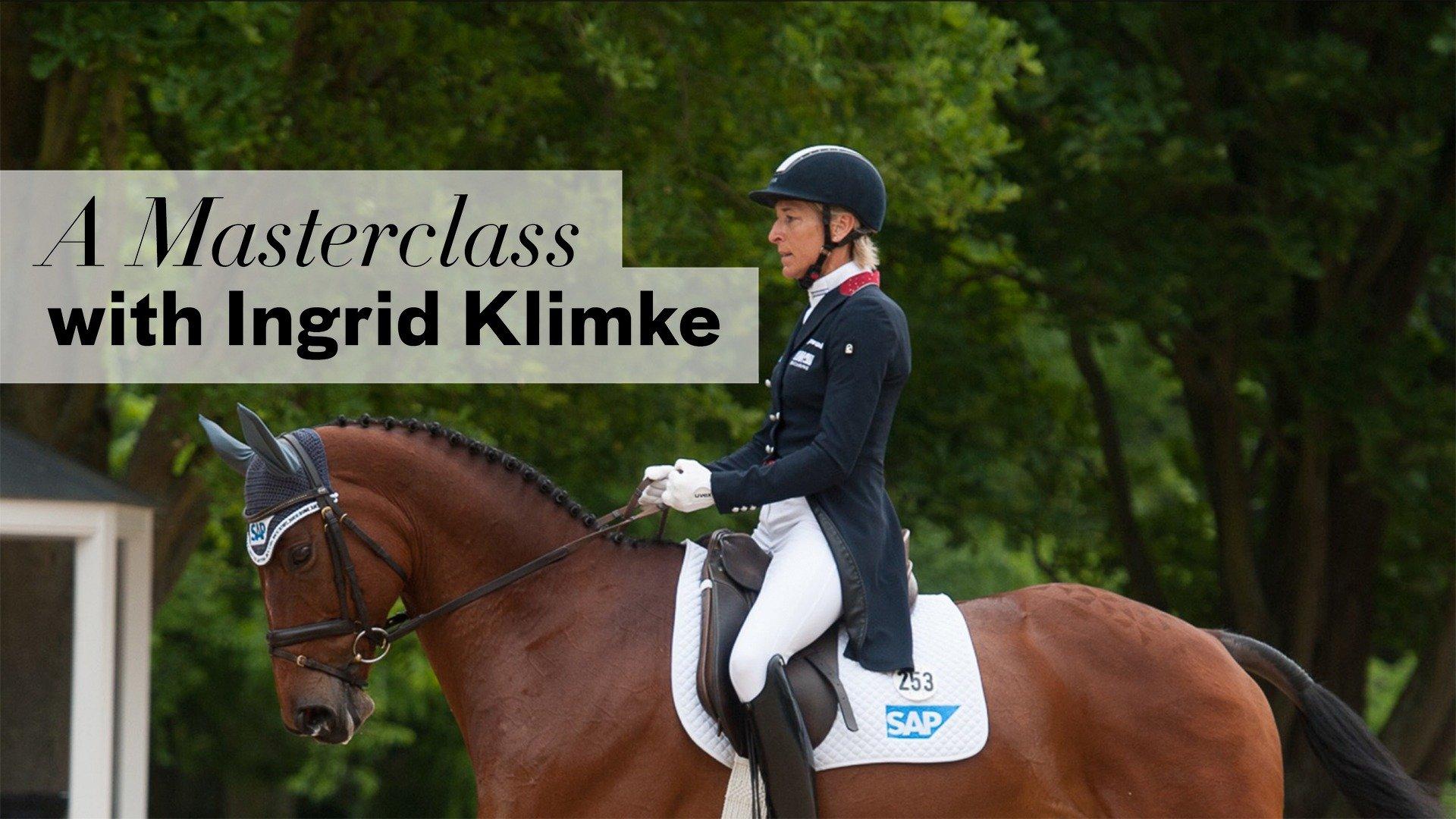 A Masterclass with Ingrid Klimke