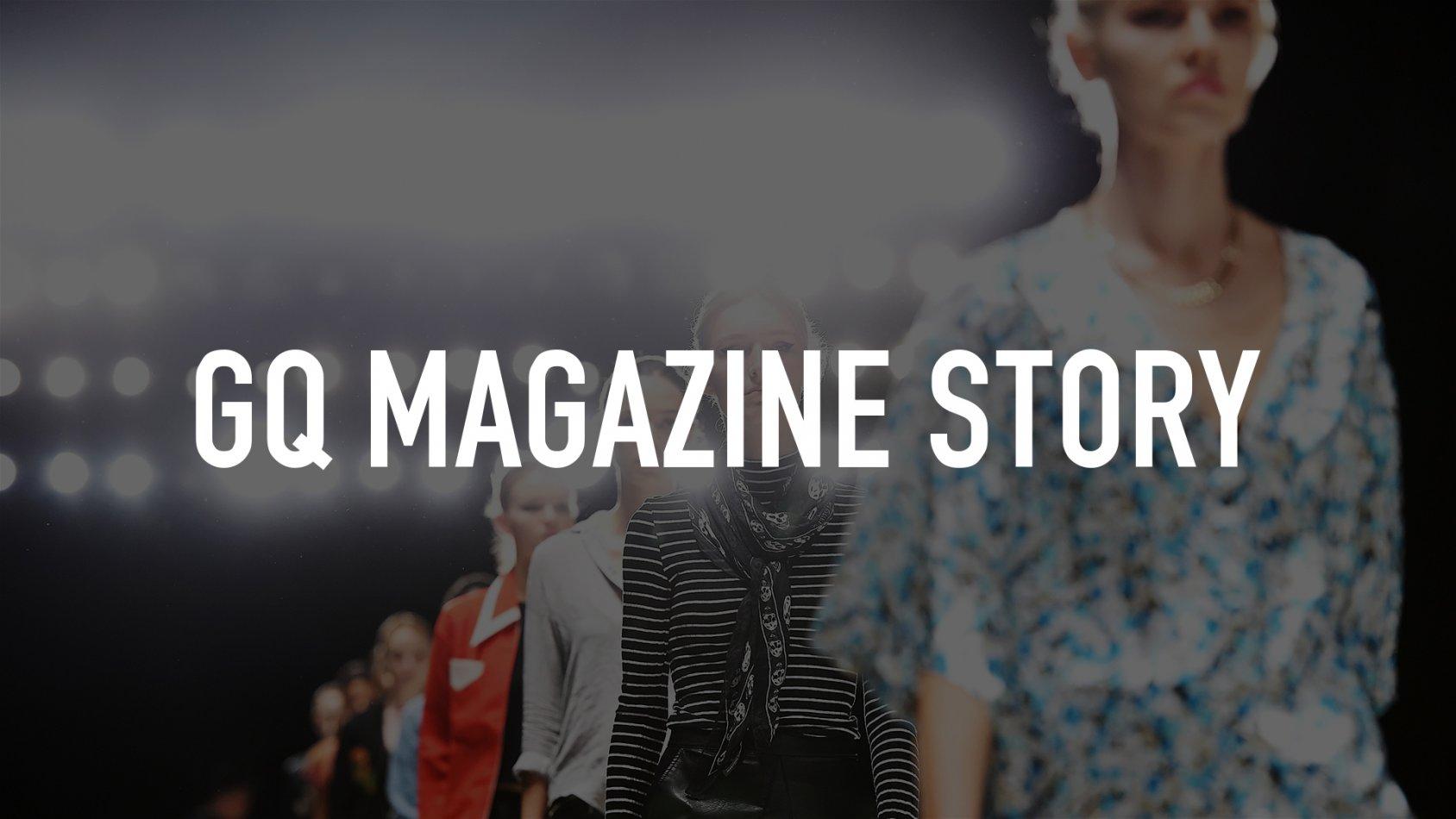 GQ Magazine Story