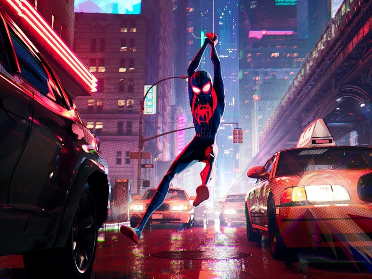Spider-Man: Into the Spider-Verse - sv.tal