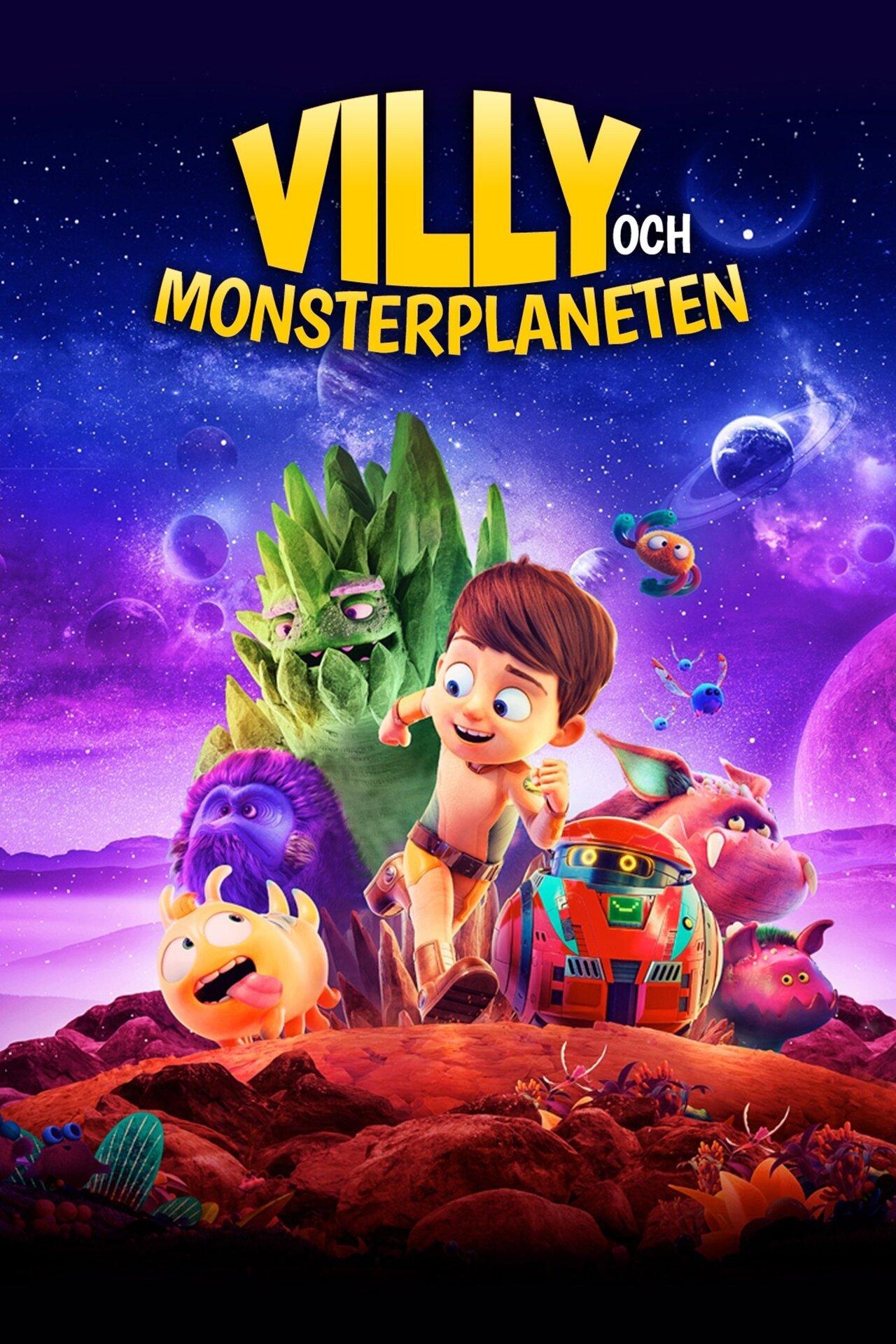 Villy och monsterplaneten