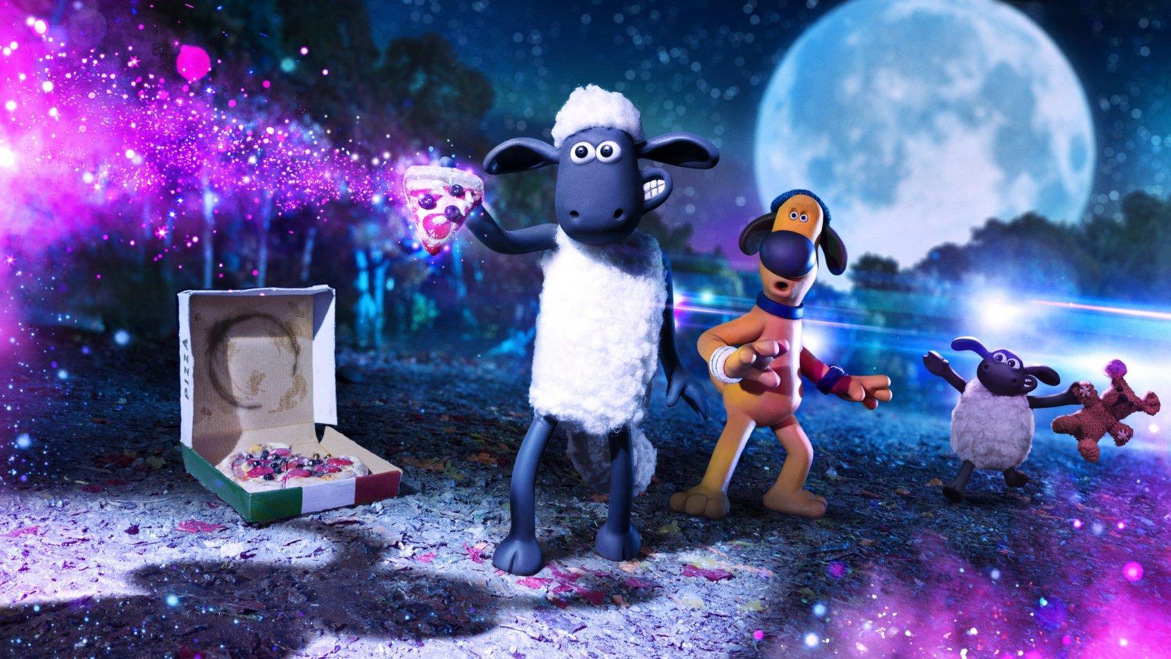 Fåret Shaun - Farmageddon - sv.tal