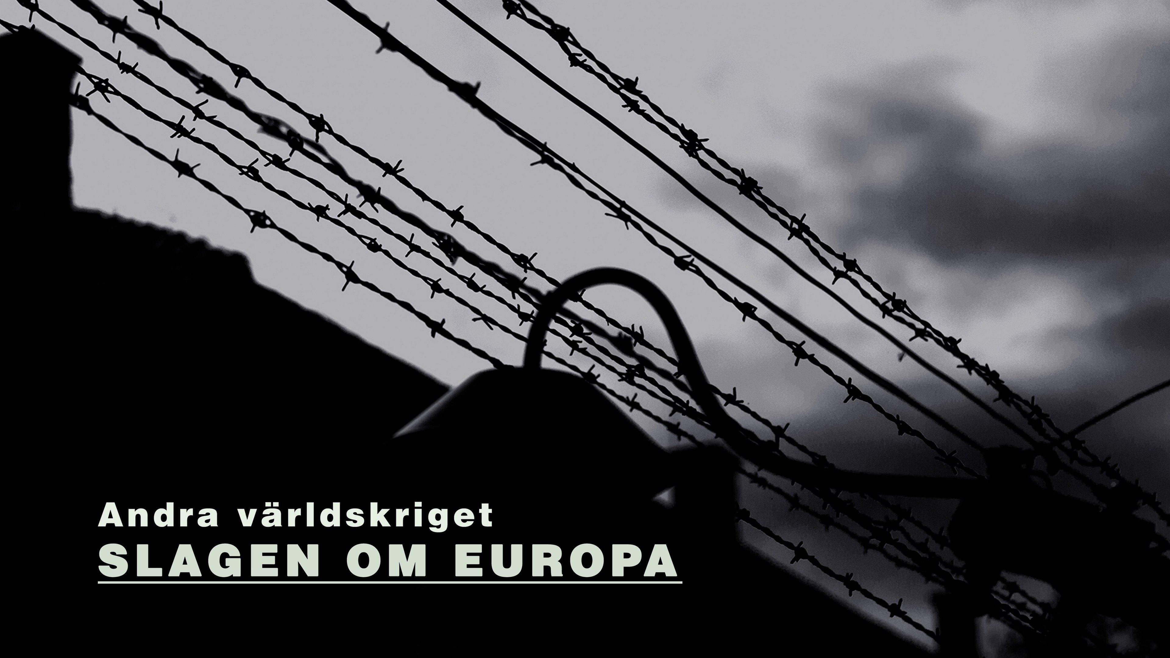 Andra världskriget - slagen om Europa