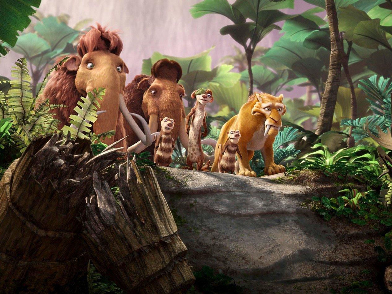 Ice age 3 - Det våras för dinosaurierna
