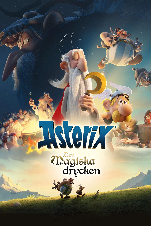 Asterix: Den magiska drycken - sv.tal