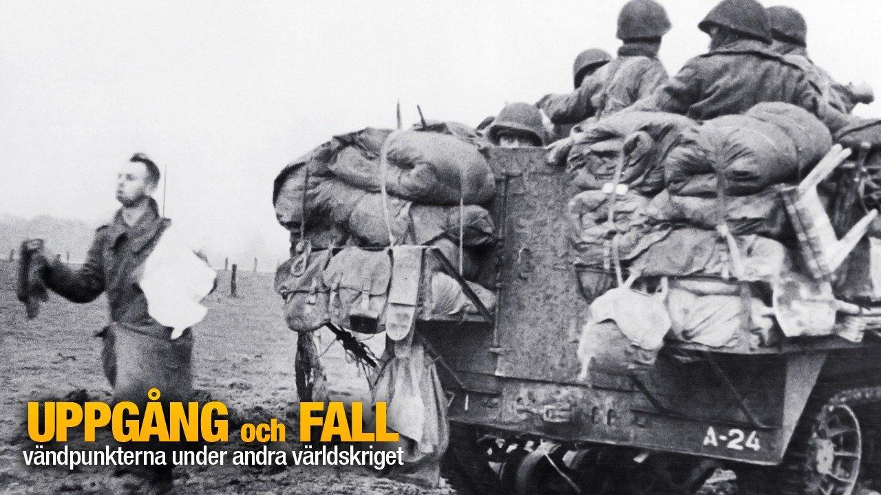 Uppgång och fall: vändpunkterna under andra världskriget