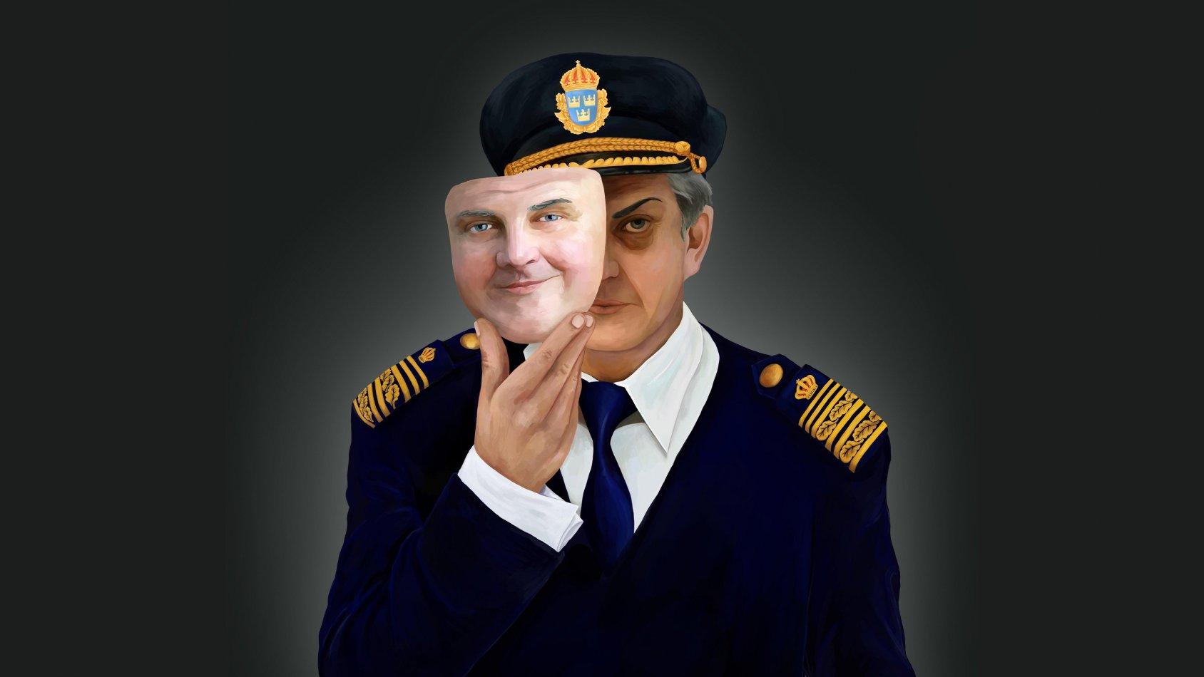 Kapten Klänning - polischef och våldtäktsman