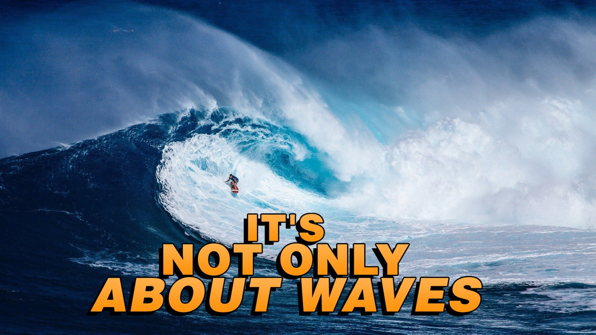 It's Not Only about Waves