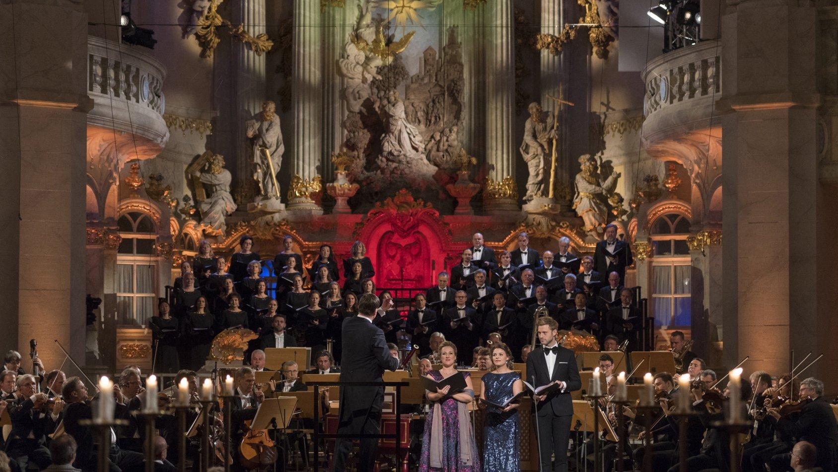 Adventskonsert i Dresdner Frauenkirche