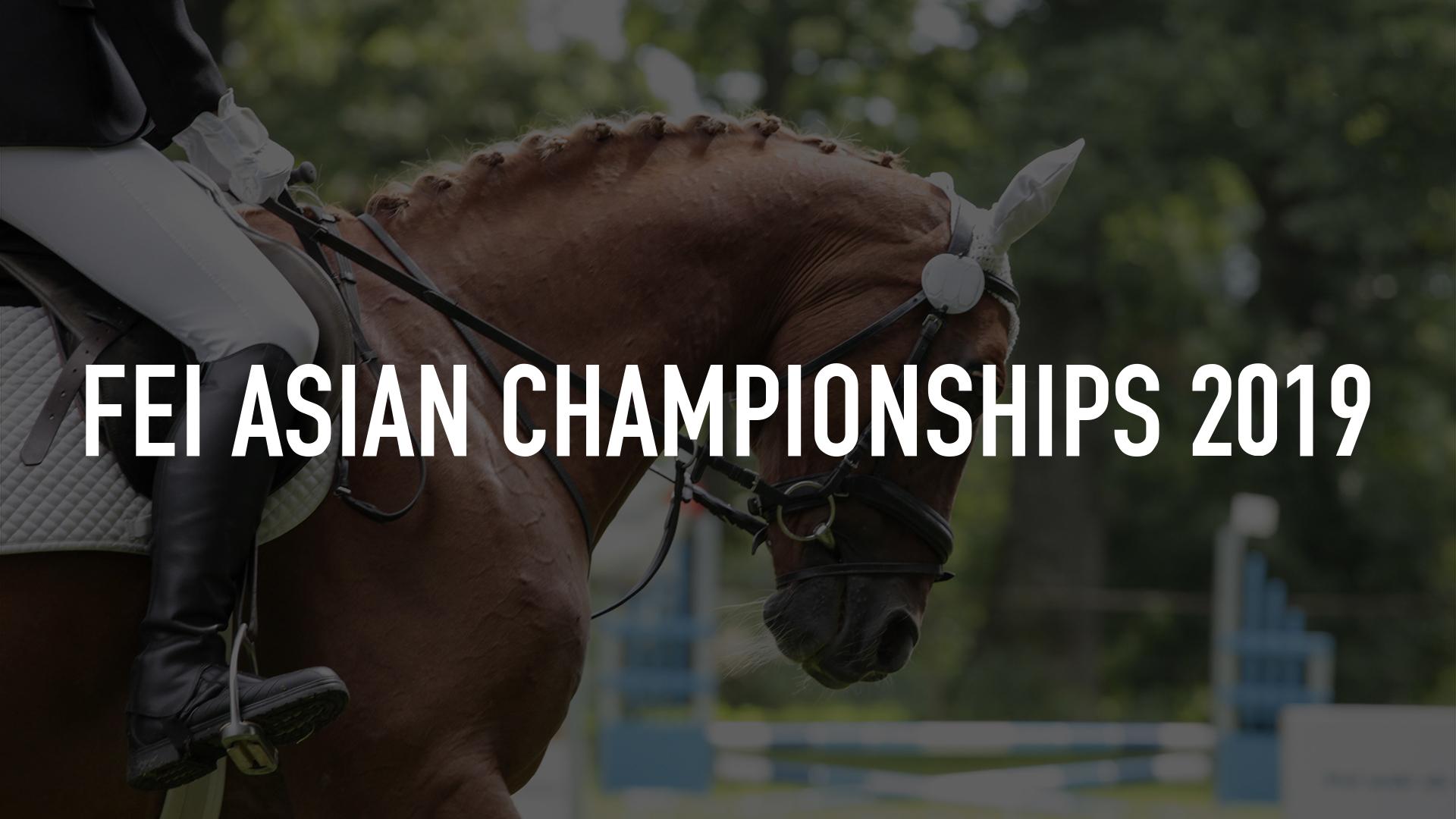 FEI Asian Championships 2019