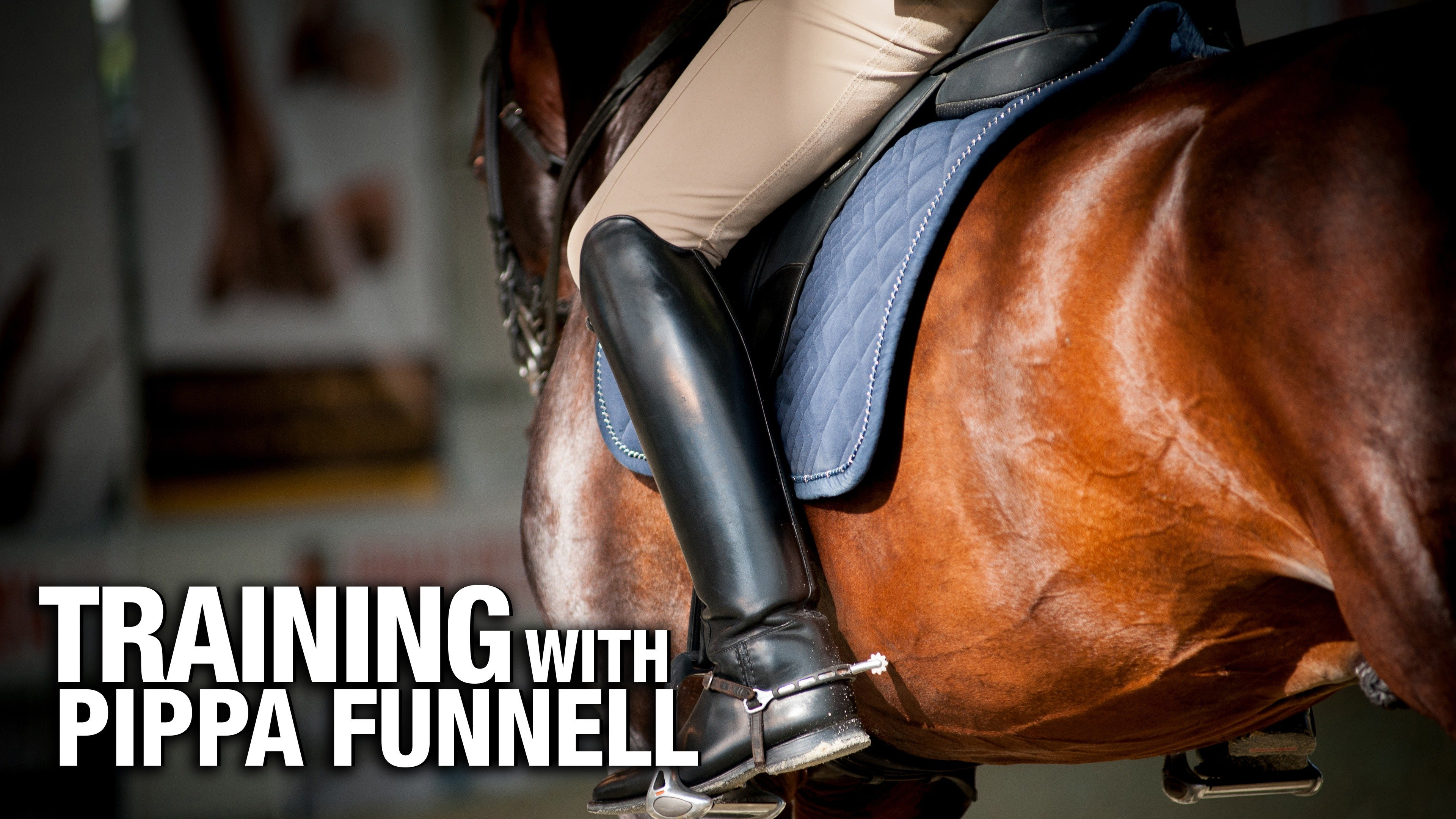 Training with Pippa Funnell