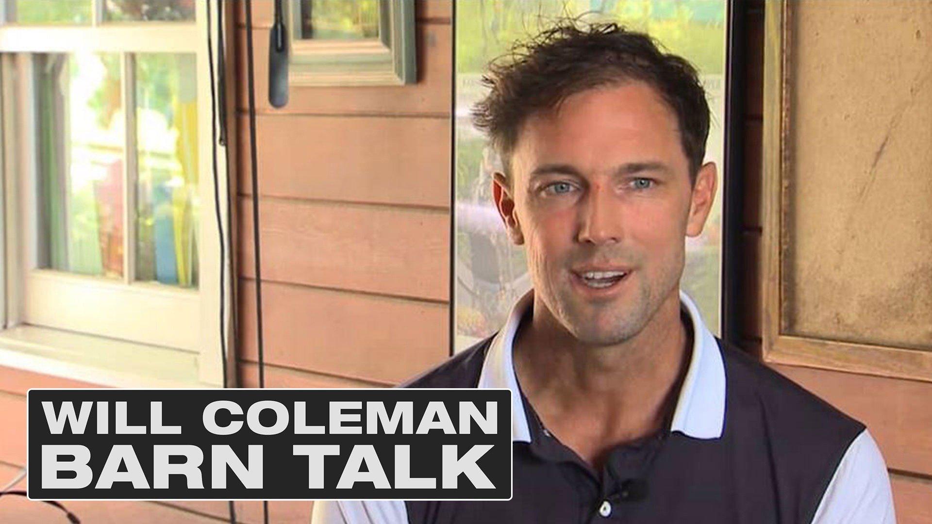 Will Coleman: Barn Talk