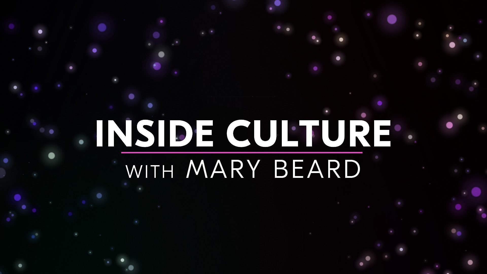 Inside Culture with Mary Beard