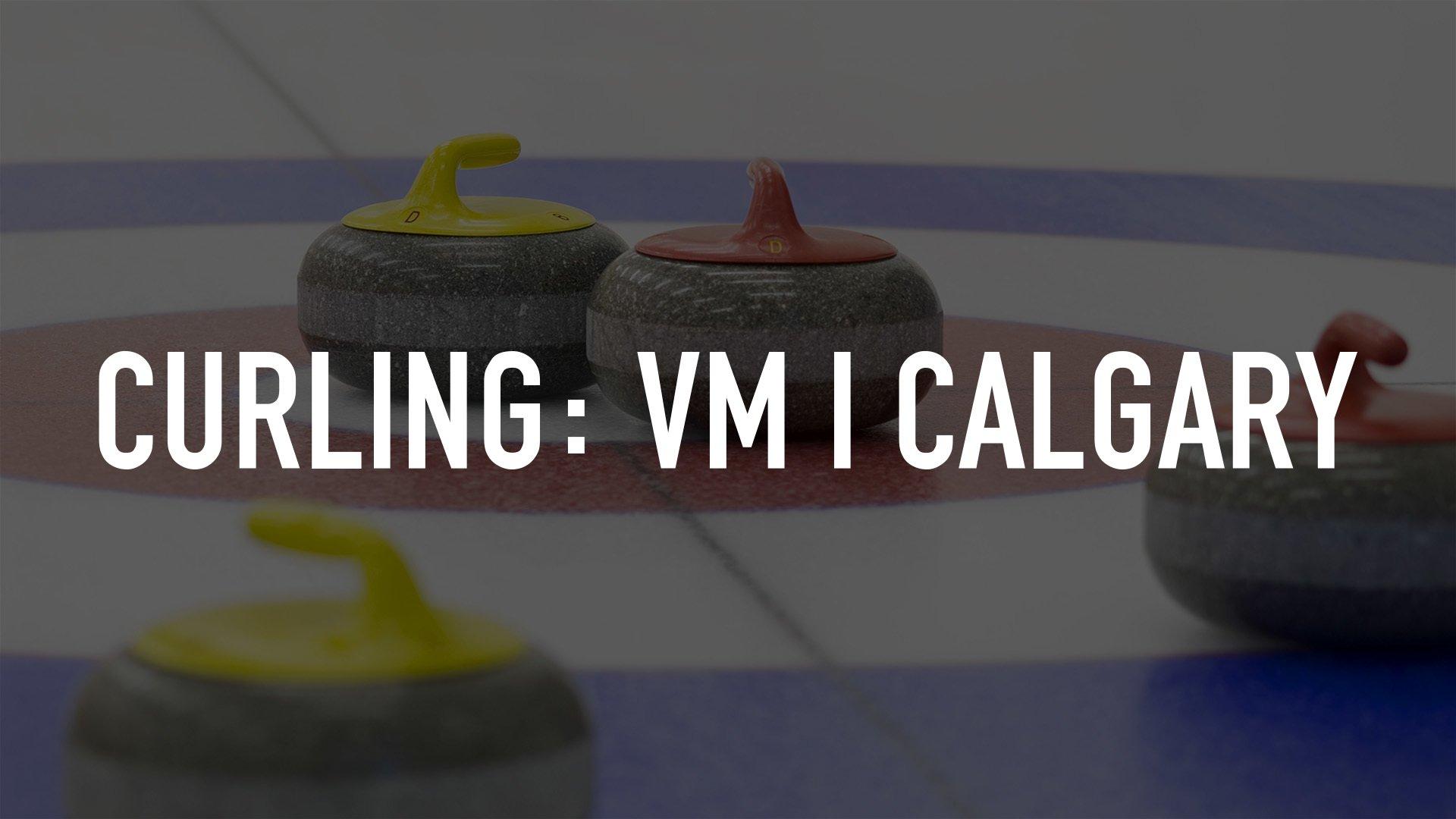 Curling: Vm I Calgary