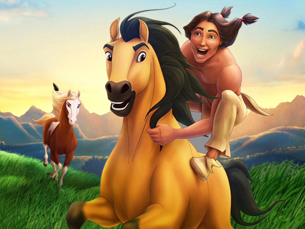 Spirit: Hästen från vildmarken