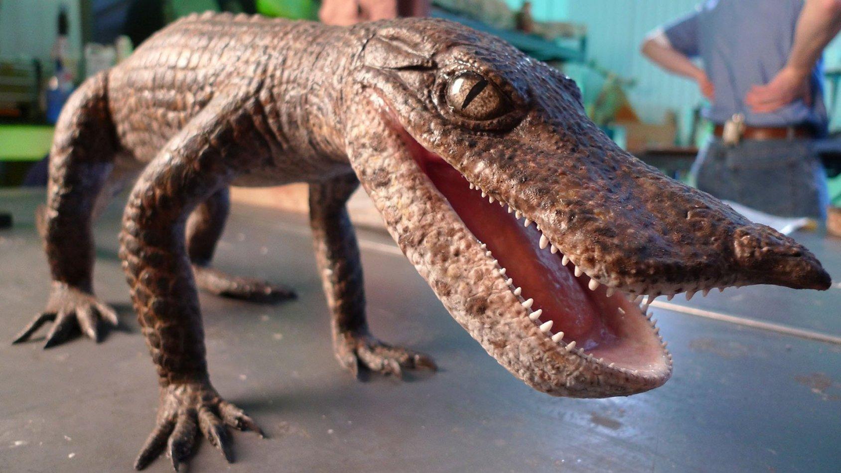 När krokodiler åt dinosaurier