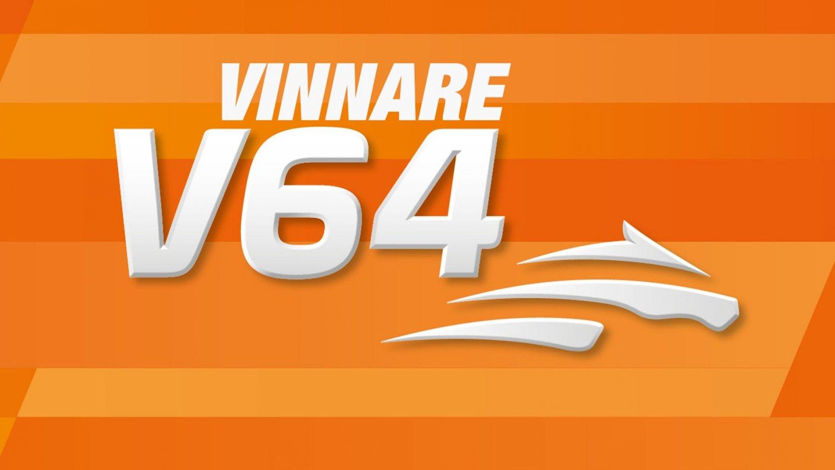 Vinnare: V64