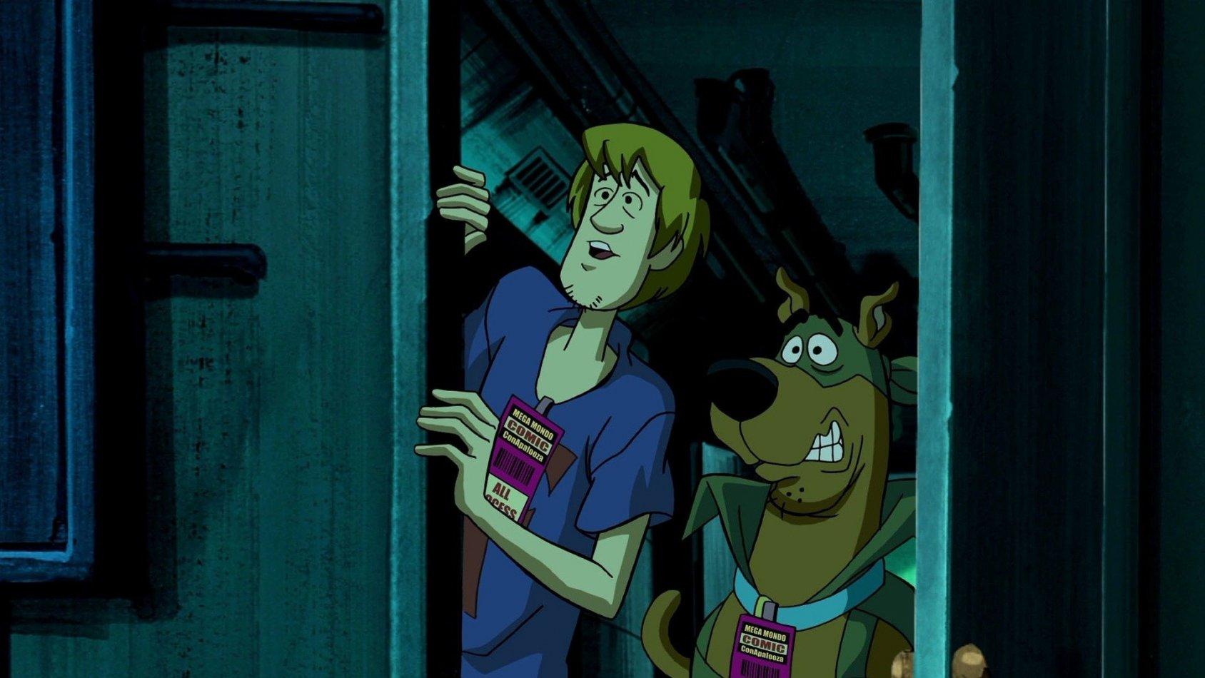 Scooby-Doo! Blå falcons mask