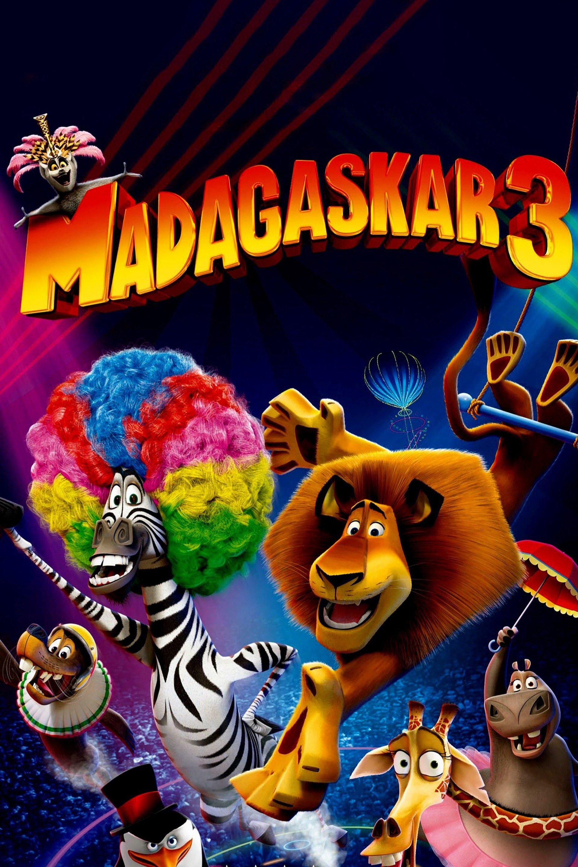 Madagaskar 3 - sv.tal