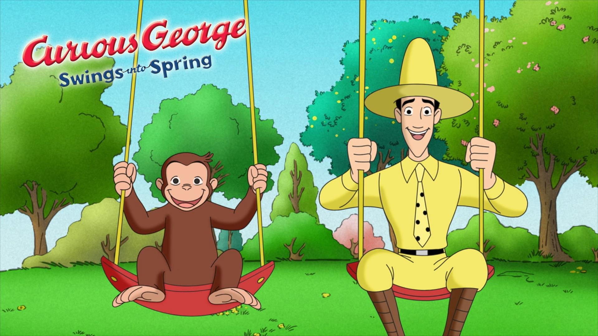 Curious George Swings Into Spring