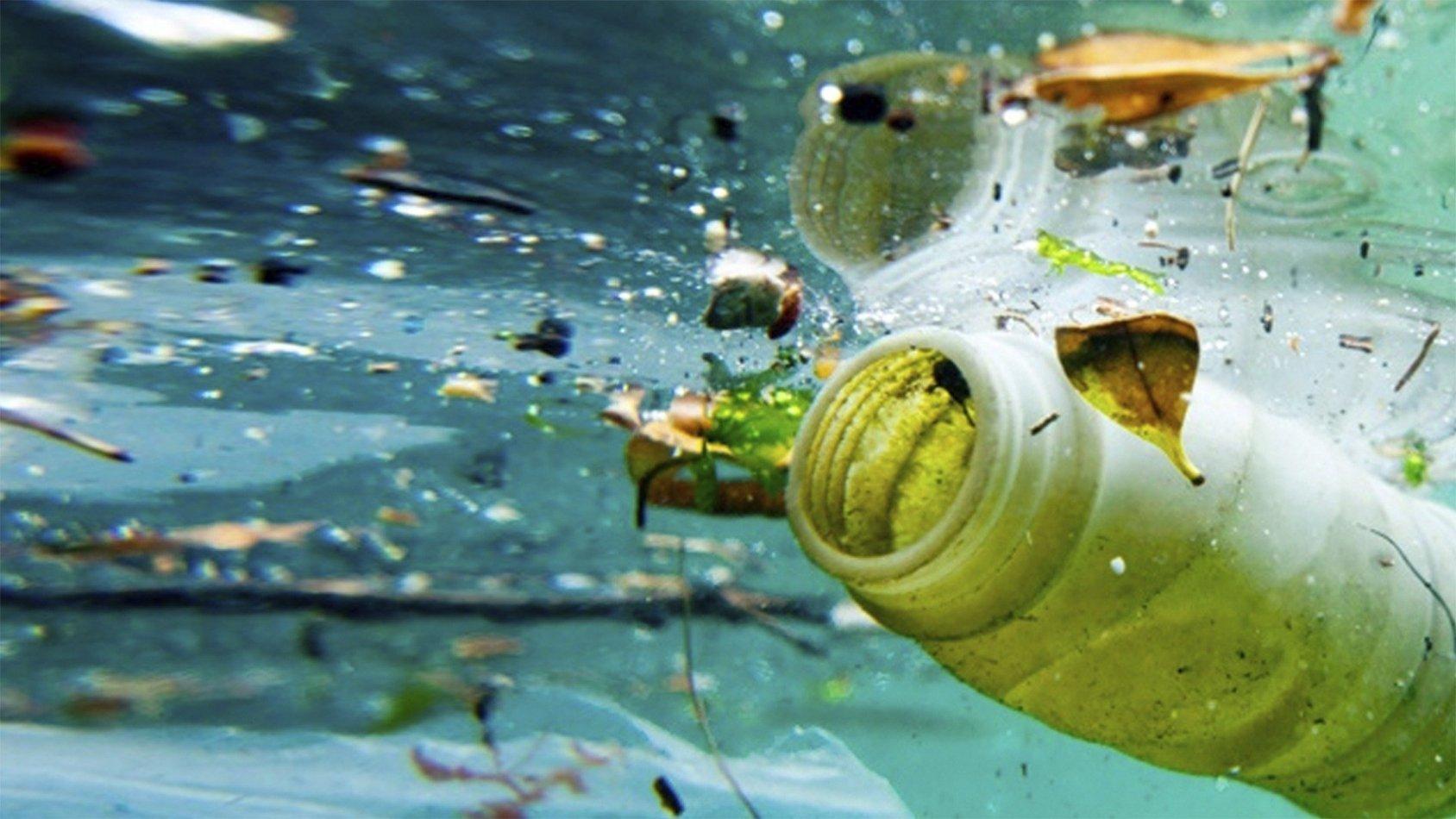 Plast-ett havsmonster